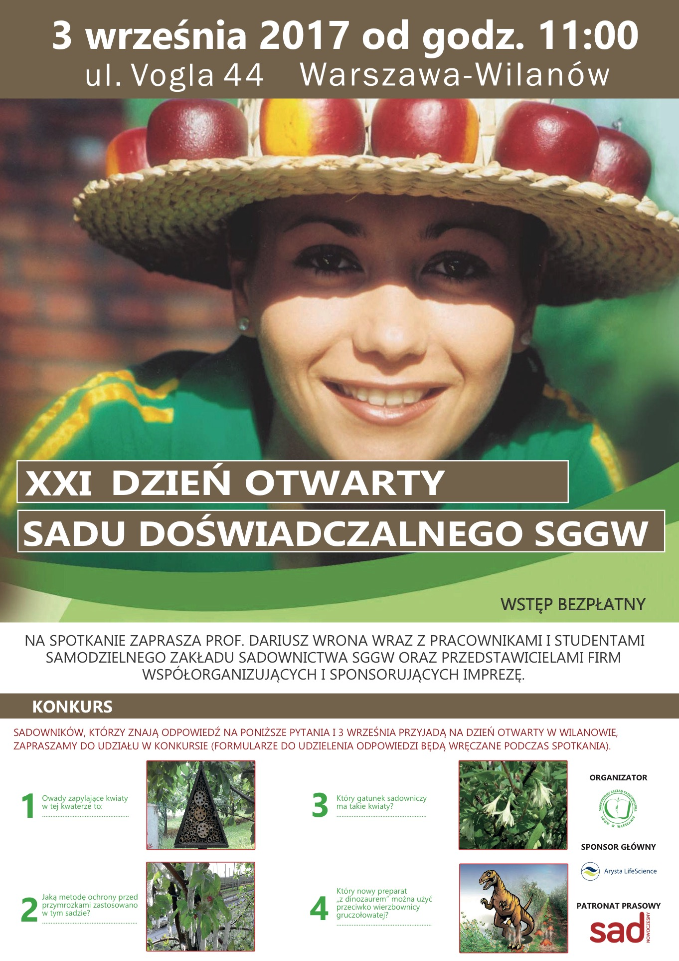 Dzień sadu SGGW 2017
