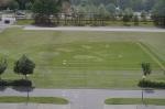 Trawnik udekorowany na 95-lecie WOBiAK